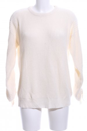 Brave Soul Knitted Sweater cream casual look