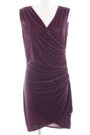 Brave Soul Robe portefeuille violet élégant
