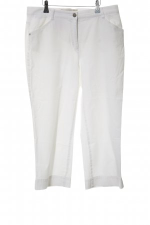 Brax 3/4 Length Trousers white casual look