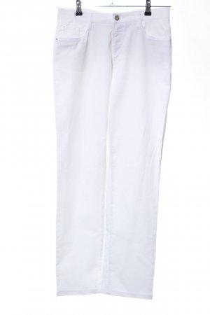 Brax 7/8 Length Trousers white casual look