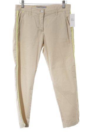 Brax 7/8-Hose beige-neongelb Casual-Look