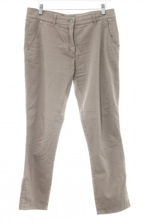 Brax Pantalon 7/8 gris brun style décontracté