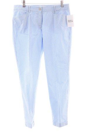 Brax 7/8-Hose weiß-babyblau Casual-Look