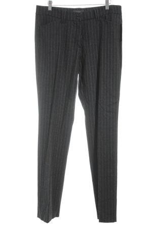 Brax Anzughose anthrazit-wollweiß Nadelstreifen Business-Look