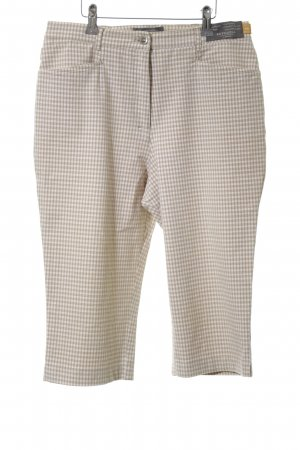 Brax Bermudas natural white-white check pattern casual look