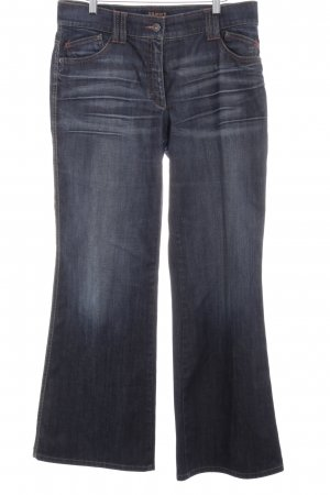 Brax Boot Cut Jeans blau-dunkelblau Casual-Look