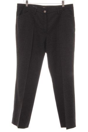 Brax Pantalon à pinces gris anthracite moucheté style d'affaires