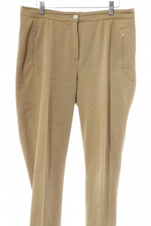 Brax Bundfaltenhose beige Business-Look