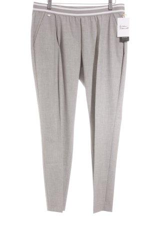 Brax Pantalon à pinces gris moucheté style décontracté