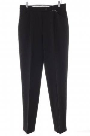 Brax Bundfaltenhose schwarz Business-Look