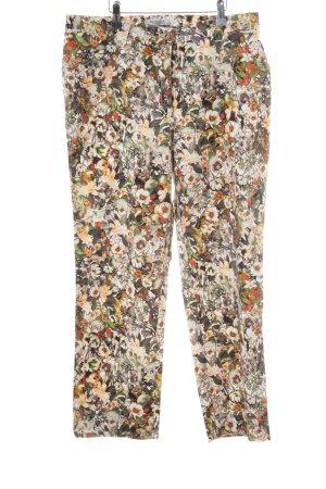 Brax Pantalone Capri motivo floreale stile casual