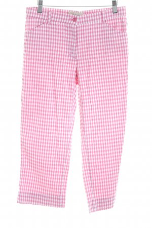 Brax Capris pink-white Vichy check pattern casual look