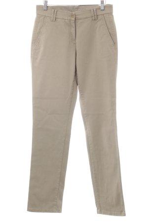 Brax Pantalone chino beige stile semplice