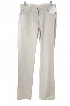 Brax Chinohose creme Casual-Look