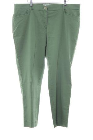Brax Chinohose grasgrün-wollweiß Casual-Look
