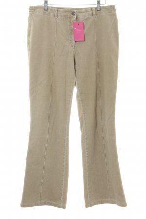 Brax Corduroy Trousers camel casual look
