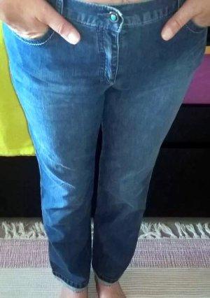 Brax Damen Jeans Hose Mary Rock Blau Denim Gr. M