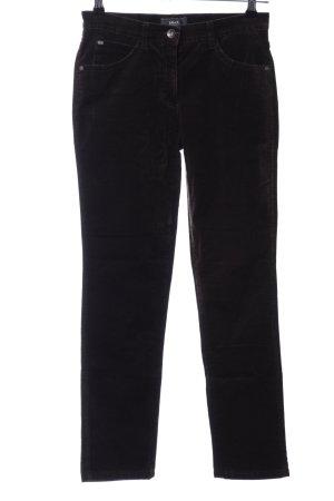 Brax Pantalon cinq poches noir style d'affaires