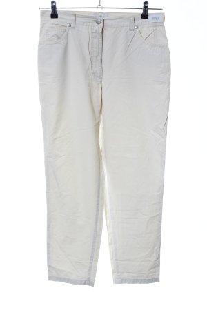 Brax Pantalon cinq poches blanc style décontracté