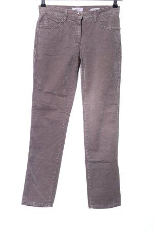 Brax Pantalon cinq poches violet style décontracté