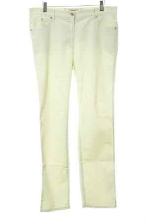 Brax Pantalón de cinco bolsillos verde pálido look casual