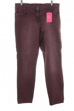 Brax Five-Pocket Trousers blackberry-red casual look