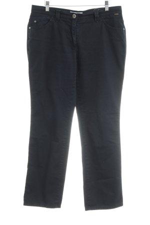 Brax Pantalón de cinco bolsillos azul oscuro estilo clásico