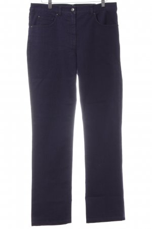 Brax Five-Pocket-Hose dunkelviolett 80ies-Stil