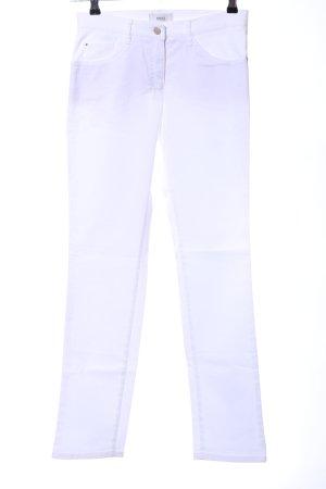 Brax Five-Pocket-Hose weiß Casual-Look