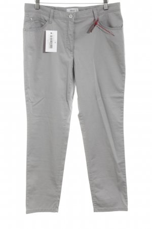 Brax Five-Pocket Trousers light grey business style