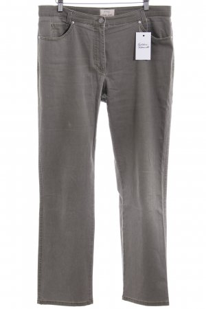 Brax Five-Pocket-Hose olivgrün-khaki schlichter Stil