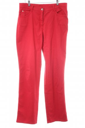 Brax Five-Pocket Trousers red extravagant style