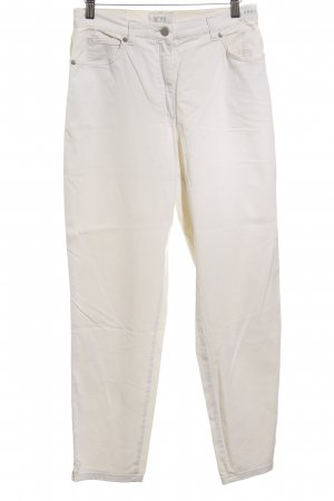 Brax Five-Pocket-Hose wollweiß Casual-Look
