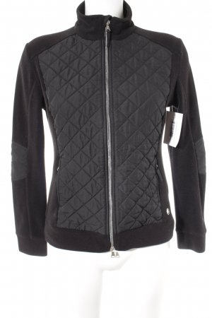 Brax Fleecejacke schwarz Casual-Look