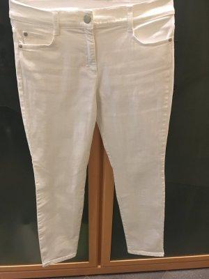 Brax Pantalone cinque tasche bianco
