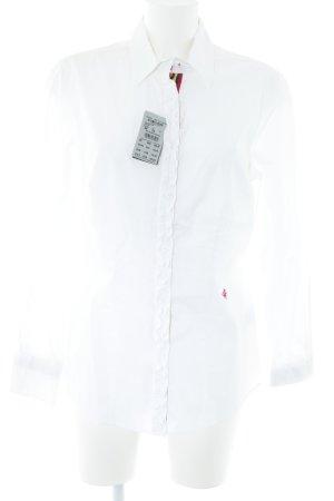 Brax Hemd-Bluse weiß extravaganter Stil