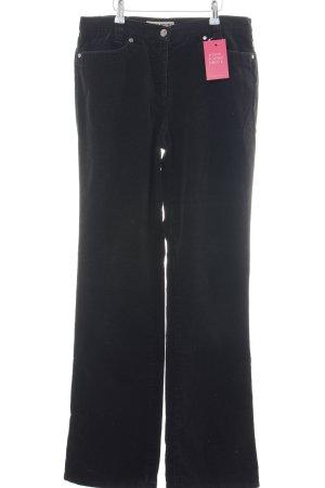 Brax High-Waist Hose schwarz Casual-Look