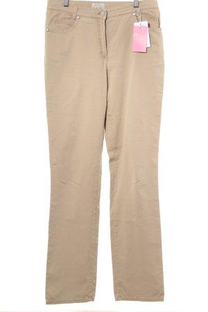 Brax High-Waist Hose beige Casual-Look