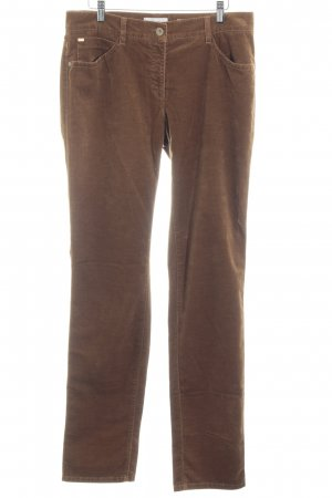 Brax High-Waist Hose bronzefarben College-Look