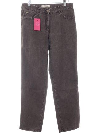 Brax High Waist Jeans dunkelgrau schlichter Stil