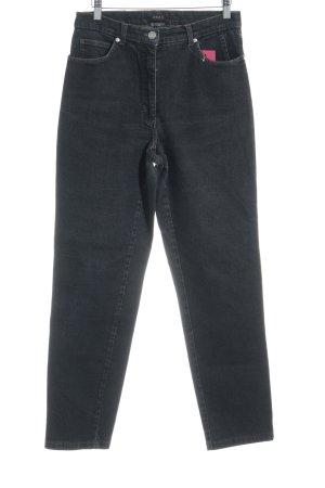 Brax High Waist Jeans schwarz Washed-Optik