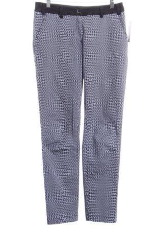 Brax Hose dunkelblau-weiß Casual-Look