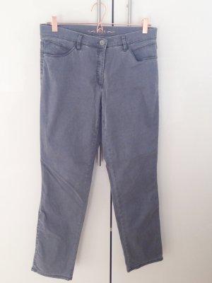 Brax Hose Jeans mary trend grau graphit neu 38/K Kurzgröße