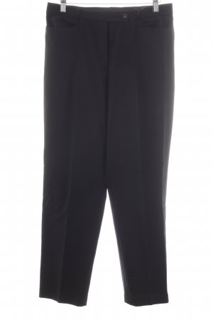 Brax Pantalon taille basse noir style d'affaires