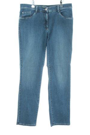 Brax Hüftjeans blau Casual-Look