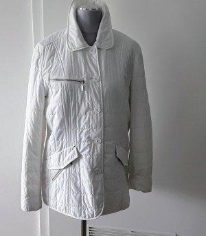 Brax Veste matelassée blanc fibre textile