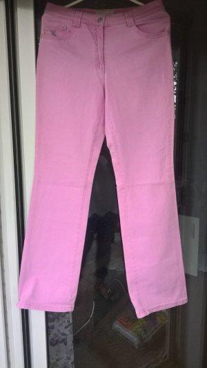 Brax Jeans Modell Anja Nieten rosa Gr. 38 K