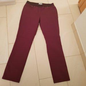 Brax Jeans Pamina Slim Farbe dunkelrot purpur Gr. 42 Neu ohne Etikett