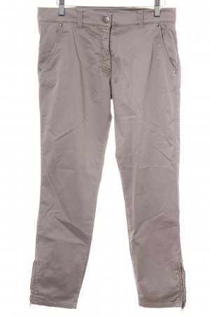 Brax Pantalone peg-top beige stile casual