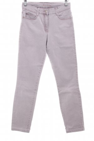 Brax Pantalone peg-top malva stile casual